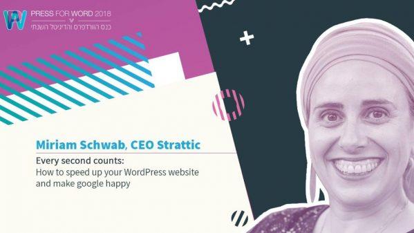 Miriam Schwab on 9 ways to speed up your WordPress website and make Google happy