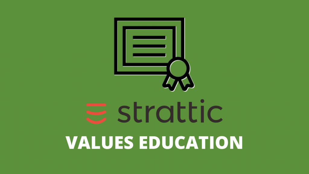 Strattic Values Education with Certificate