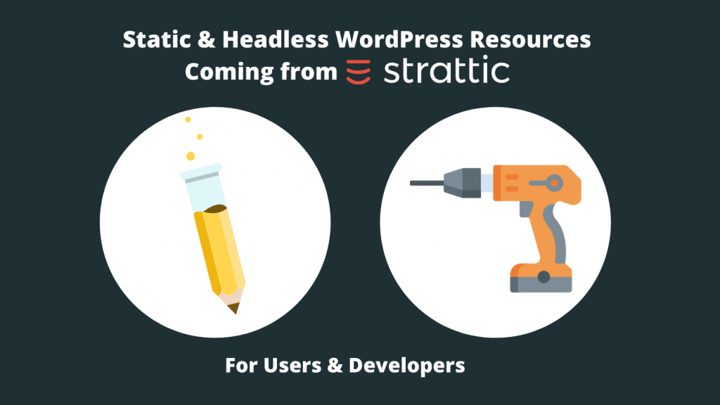 Pencil and Power Tool Showing User and Developer Resources