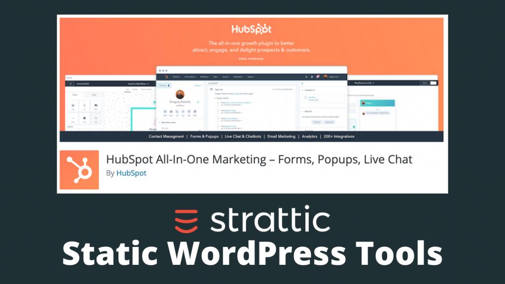 HubSpot Plugin on WordPress Repo