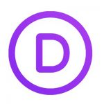 "Divi Logo ""D"" in purple"